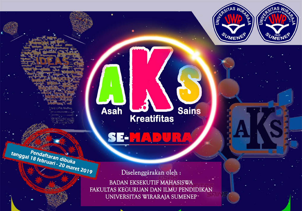 Kompetisi Asah Kreativitas Sains (AKS) Tingkat SD/MI Dan SMP/MTs Se Madura